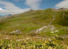Góry przy latem Zdjęcia Stock