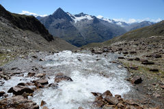 Góry przy wentylacją, Austria Zdjęcie Royalty Free