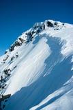 Góry przy zima Hibiny Obraz Royalty Free