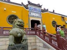 Góry Putuo świątynia Zdjęcia Royalty Free