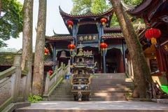 Góry Qingcheng sceneria Zdjęcia Royalty Free