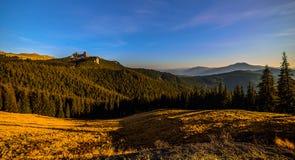 Góry Raraul Rumunia Obraz Royalty Free