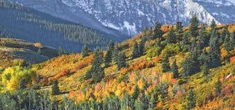 góry ridgeline sneffel Obrazy Royalty Free