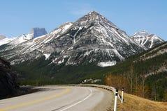 góry rocky road Zdjęcie Royalty Free