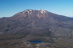 góry ruapehu Fotografia Royalty Free