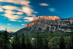 góry rundle wschód słońca Zdjęcie Stock