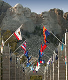 góry rushmore Fotografia Royalty Free