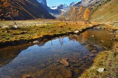 Góry rzeczne Zdjęcie Stock