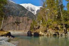 Góry rzeczne Obraz Stock