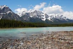 góry rzeki rocky Zdjęcie Stock