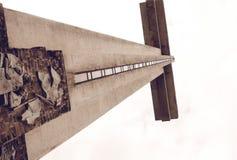 Góry Samat krzyż Fotografia Stock
