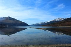 Góry Scotland Zdjęcia Royalty Free