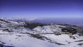 Góry Sierra Nevada, Andalusia, Hiszpania obrazy stock