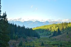 góry skaliste Blaszana filiżanka, Colorado Zdjęcie Royalty Free