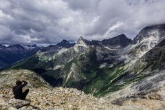 góry skaliste Kanada zdjęcia stock
