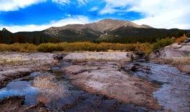 góry skaliste krajobrazowe Zdjęcia Stock