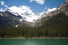 góry skaliste lodowiec Obrazy Stock