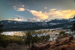 góry snowcapped Zdjęcia Royalty Free