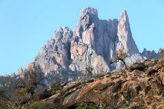 Góry Socotra wyspa Obraz Stock