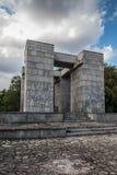 Góry St Anna Polska, Lipiec, - 3, 2016: Zabytek (projekt Xsawery Obrazy Royalty Free