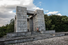 Góry St Anna Polska, Lipiec, - 3, 2016: Zabytek (projekt Xsawery Zdjęcia Stock