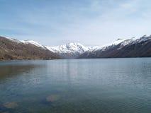 Góry St Helens Duch jezioro Zdjęcia Royalty Free