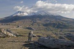 Góry St Hellens Wulkan Fotografia Stock