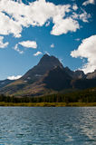 Góry Swiftcurrent Jezioro, Lodowa Obywatel P Obrazy Stock