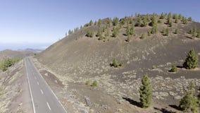 Góry Tenerife, widok z lotu ptaka Obrazy Stock