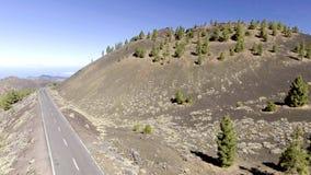 Góry Tenerife, widok z lotu ptaka Obraz Stock