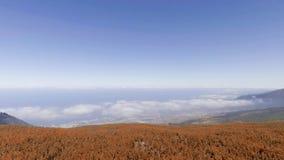 Góry Tenerife, widok z lotu ptaka Fotografia Royalty Free