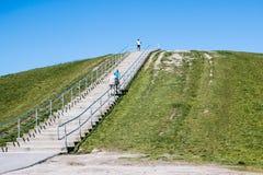 Góry Trashmore parka schody w Virginia plaży Zdjęcie Stock
