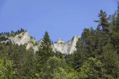 Góry Trzy korony Fotografia Stock