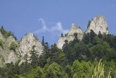 Góry Trzy korony Zdjęcia Stock