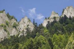 Góry Trzy korony Zdjęcie Royalty Free