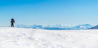 góry turystyczne Zdjęcie Stock
