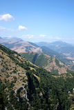 góry Umbria Zdjęcia Stock
