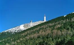 góry ventoux Fotografia Stock