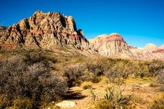 Góry właśnie na zewnątrz Las Vegas Zdjęcie Stock