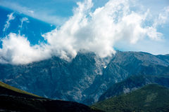 Góry w Albania Zdjęcie Stock