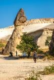 Góry w Cappadocia obraz royalty free