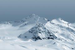 Góry w chmurach zdjęcia royalty free