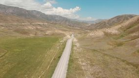 Góry w Kirgistan przepustka kraj Otwiera Za Ferghana dolinie zdjęcie wideo