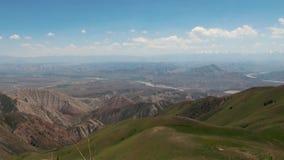 Góry w Kirgistan przepustka kraj Otwiera Za Ferghana dolinie zbiory