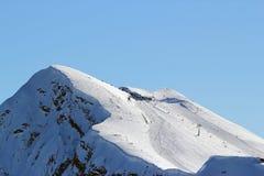 Góry w Krasnaya polyana Zdjęcia Stock