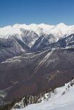 Góry w Krasnaya Polyana, Rosja zdjęcia stock