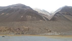 Góry w Ladakh Obrazy Royalty Free