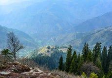 Góry w Naran Kaghan dolinie, Pakistan Zdjęcia Stock