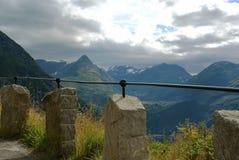 Góry w Norwegia Obrazy Royalty Free