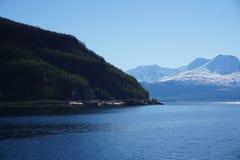 Góry w Norwegia fotografia royalty free